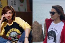Biasa tampil formal, ini 8 potret Najwa Shihab kenakan kaus