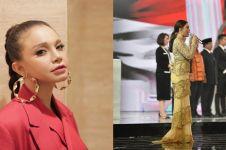 Rossa minta maaf usai salah lirik Indonesia Raya di Debat Capres