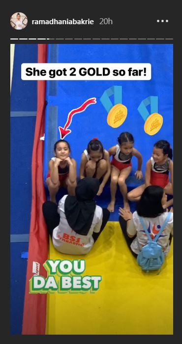 Mikhayla anak nia gymnastic © 2019 brilio.net