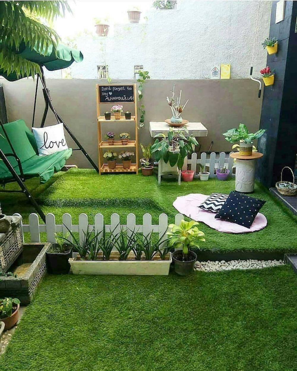 15 Desain taman untuk rumah minimalis, bikin makin kece ...
