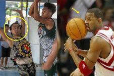 10 Ekspresi lucu orang saat main basket, wajahnya nggak nguatin