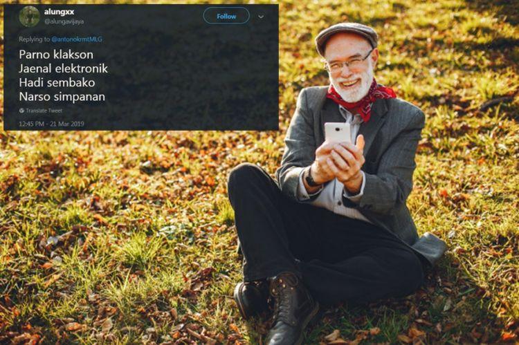 10 Cuitan lucu nama kontak di handphone bapak ini bikin cekikikan