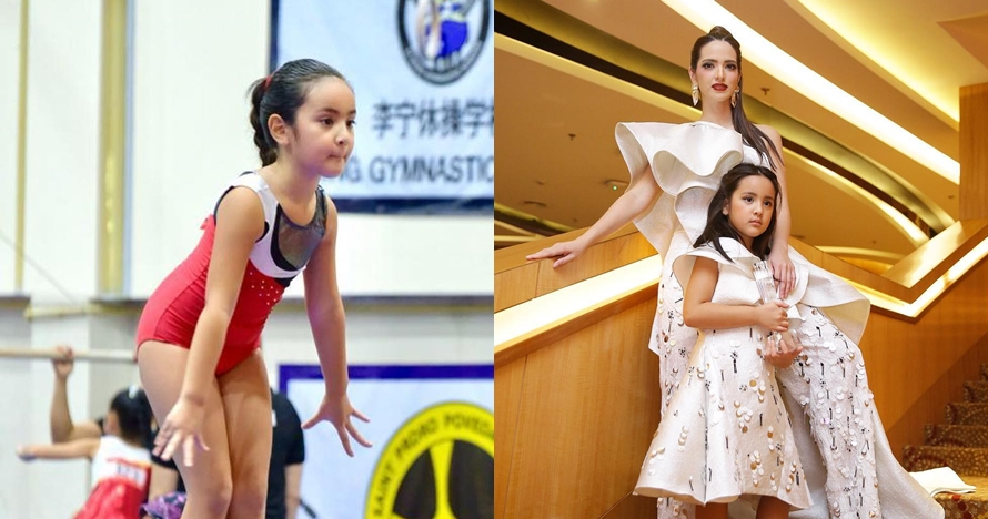 8 Potret Mikhayla anak Nia Ramadhani olahraga, aksinya bikin gemes
