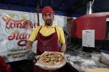 Pizza kaki lima di Jogja yang rasanya nggak kalah dari restoran