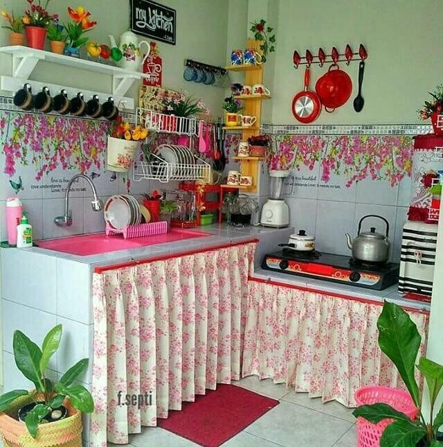 dapur minimalis keren kece instagram