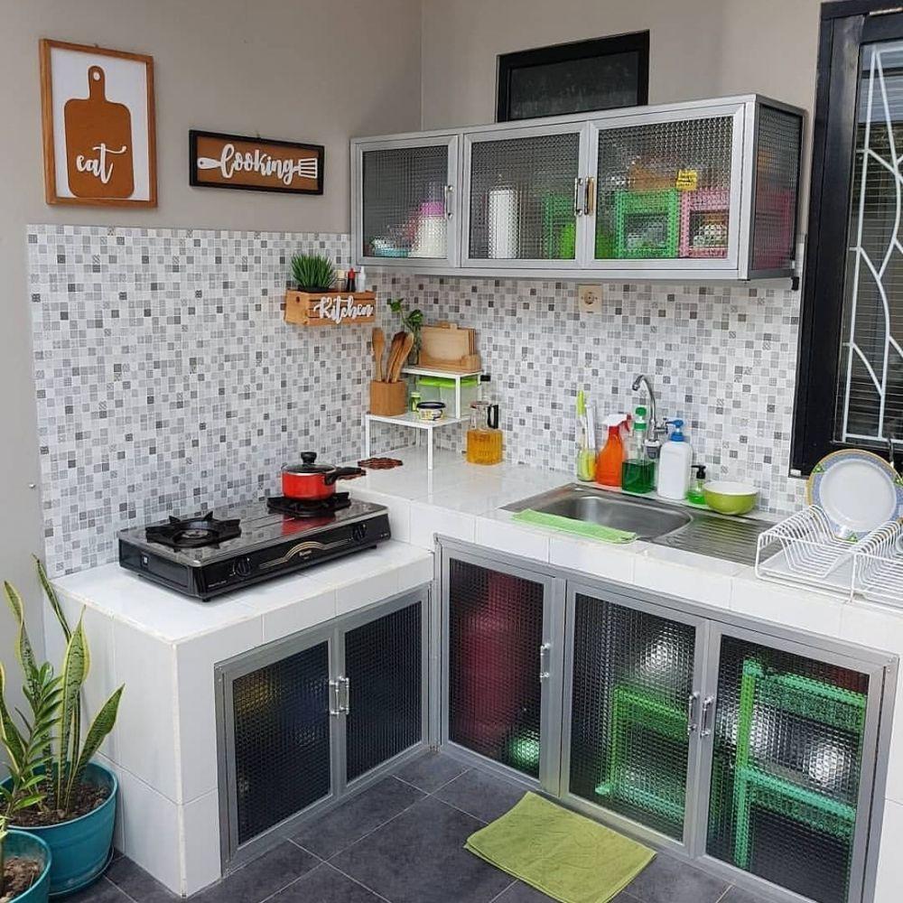 20 Desain Dapur Minimalis Modern Bikin