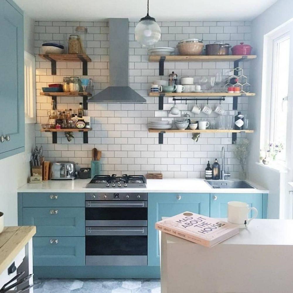 20 Desain Dapur Minimalis Modern Bikin Rumah Makin Kece