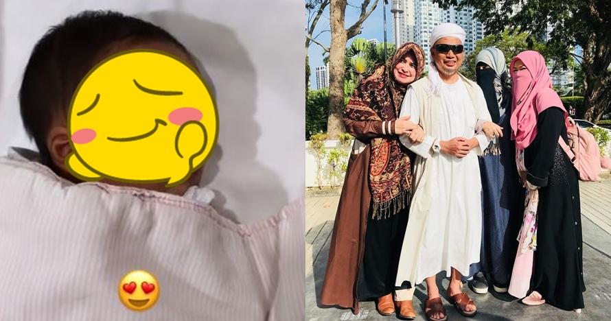 Ustaz Arifin Ilham dikaruniai anak ke-8 dari istri ke-3, ini potretnya