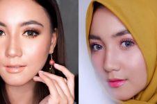 10 Pesona Erica Putri tampil berhijab, cantiknya makin terpancar