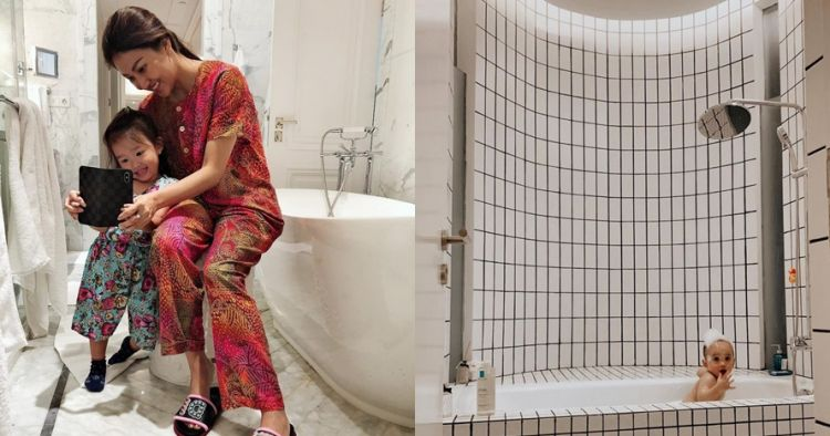 Penampakan kamar mandi 7 artis ini mewah dan elegan