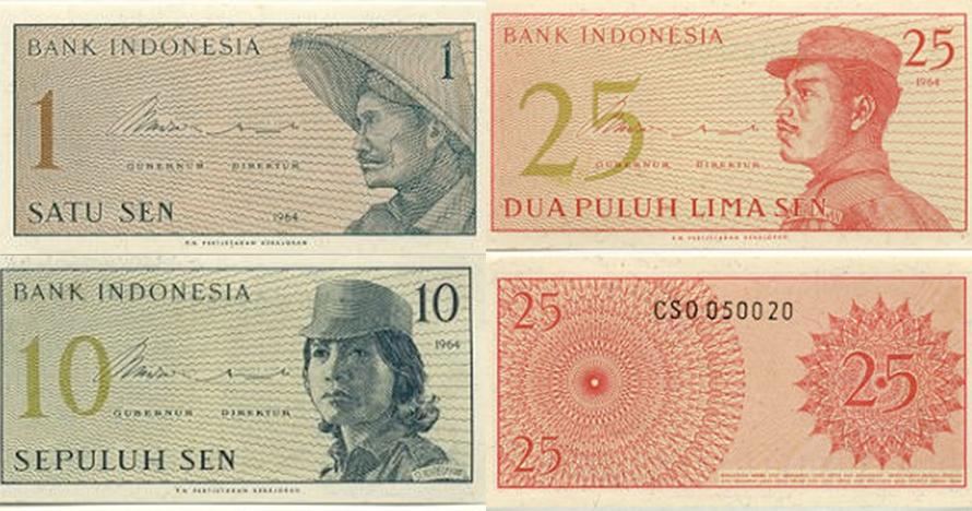 10 Potret penampakan uang rupiah tahun 60-an, koleksi mahal nih