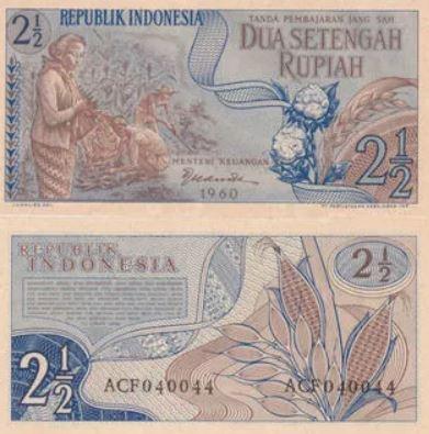 uang rupiah 60an © 2019 berbagai sumber
