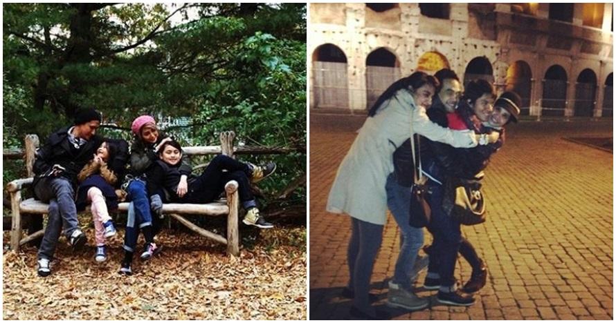 Perbedaan gaya liburan 5 pasangan artis sebelum & sesudah hijrah