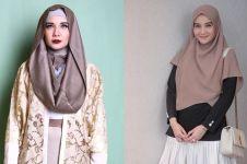 8 Potret Zaskia Sungkar pakai makeup tebal, bikin pangling