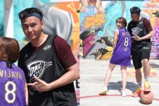 8 Momen Gisella dan Wijaya Saputra main basket, mesra abis