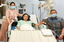 Senyuman Ani Yudhoyono berjuang melawan kanker darah, bikin haru