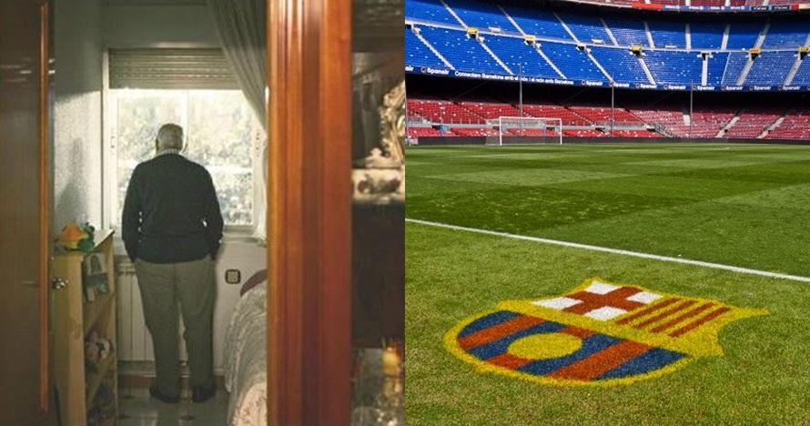 Rumahnya mepet stadion, pria ini bisa nonton La Liga gratis