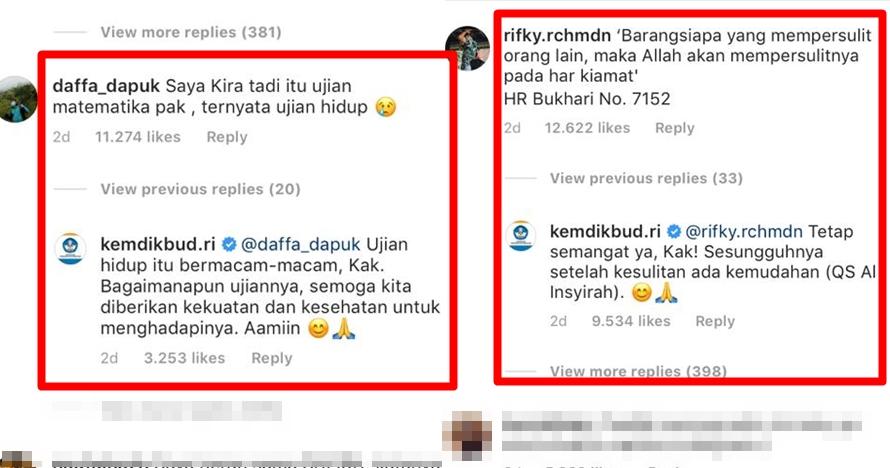 10 Jawaban kocak admin Kemdikbud tanggapi curhat peserta UNBK