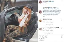5 Momen di balik video klip Lucinta Luna di Rusia, pakai mobil mewah