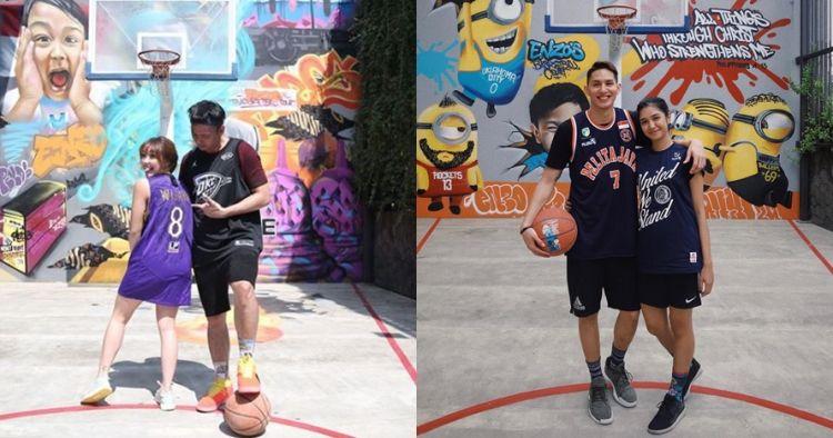 8 Seleb cantik jatuh ke pelukan atlet basket