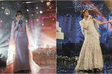 12 Gaun manggung Gisella Anastasia ini glamor dan memesona abis