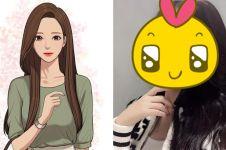 Penulis webtoon cantik ini mirip tokoh komik, ini 8 fotonya
