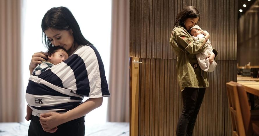 Pilih rawat anak sendiri, ini 10 momen Ardina Rasti tanpa baby sitter