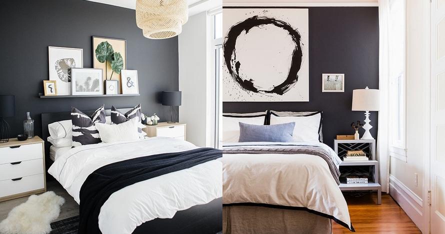 11 Desain kamar bertema monokrom, simpel dan elegan