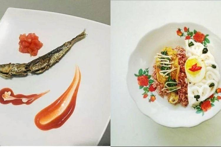 12 Foto Lucu Makanan Warteg Disajikan Ala Masterchef Kocak Pol