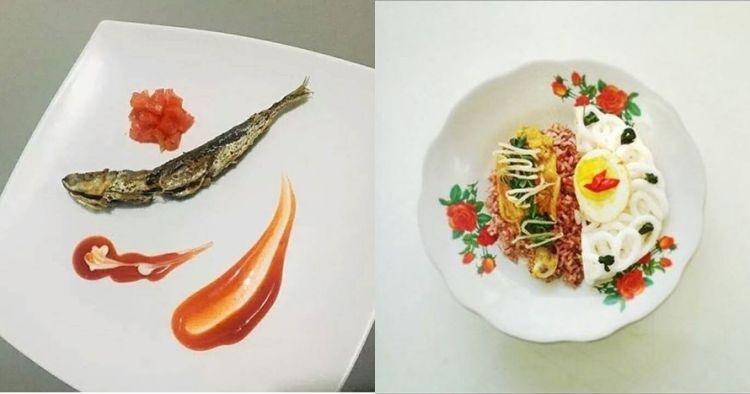 12 Foto lucu makanan warteg disajikan ala MasterChef, kocak pol