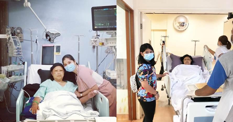 Sempat demam tinggi, Ani Yudhoyono keluar ICU ditemani sang cucu