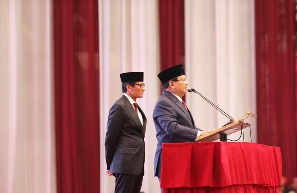 Pernyataan kontroversial Prabowo istimewa