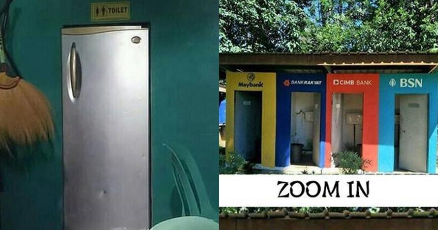 11 Desain pintu toilet ini nggak biasa, bikin ketawa tepuk jidat