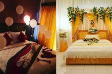 20 Desain kamar pengantin simpel dan romantis, bikin makin mesra