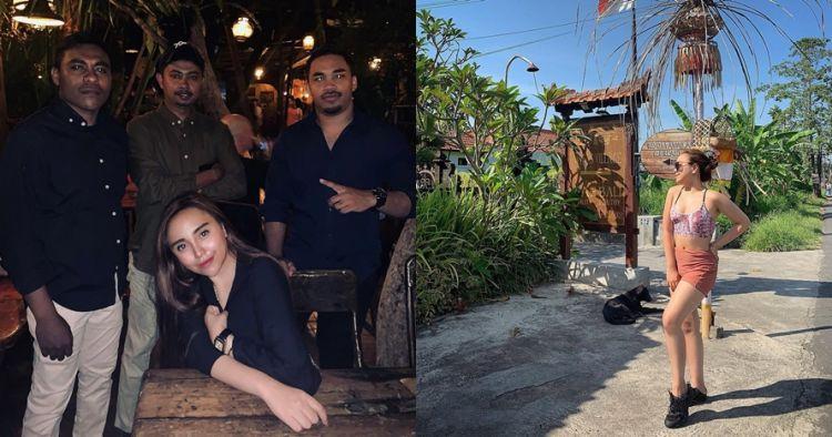 10 Potret liburan Salmafina Sunan di Bali, dikawal bodyguard