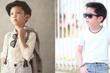 10 Gaya stylish Jovarel Callum, aktor cilik di Film Mati Anak