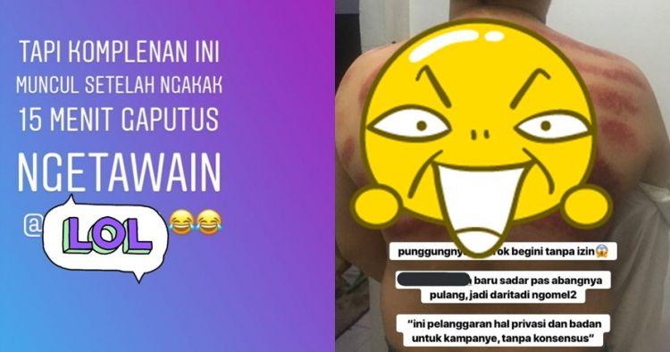 Cowok ini dikerok oleh tukang pijat fanatik Prabowo, hasilnya lucu