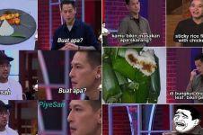 12 Meme lucu obrolan Chef Juna & peserta MasterChef, auto kenyang