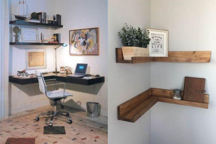 10 Ide manfaatkan sudut ruangan sempit, rumah jadi lebih cozy