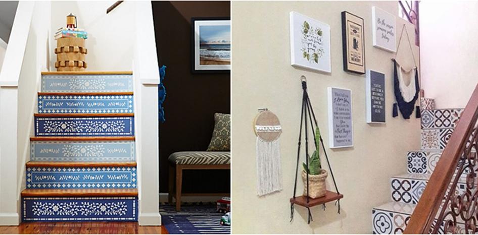 15 Dekorasi tangga ini bikin rumah makin kece dan cozy