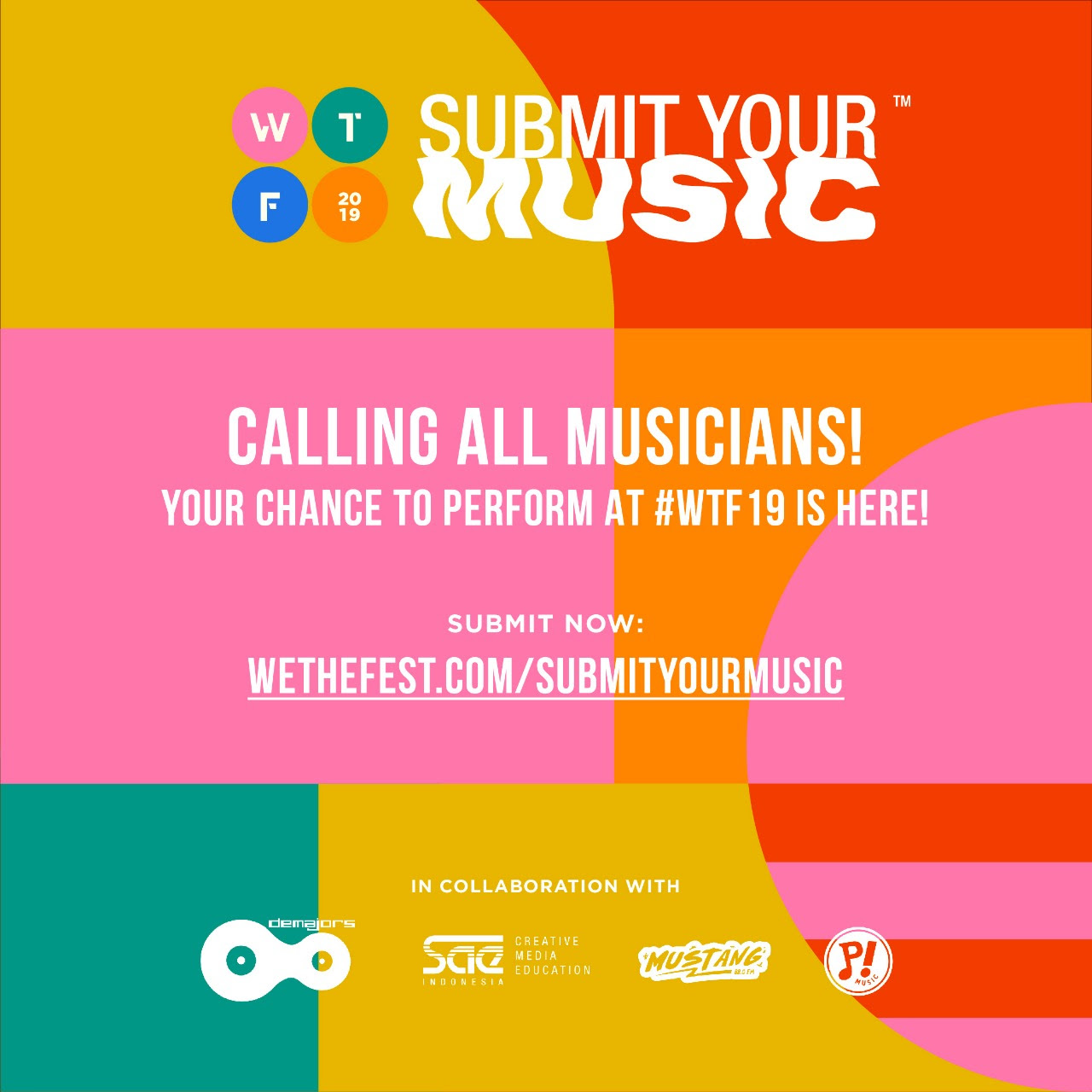 Mau tampil di We The Fest 2019? Submit Your Music jawabannya!