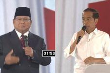 Lembaga survei ini sebut selisih Jokowi-Prabowo tinggal 5,4%