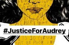 Trending di Twitter, warganet bikin petisi Justice For Audrey
