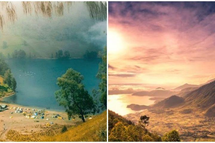10 Danau terindah di Indonesia, ada yang dihuni ikan hiu