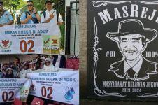 10 Nama komunitas pendukung Prabowo dan Jokowi ini unik banget
