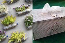 10 Trik mengolah barang bekas di rumah untuk mengurangi sampah