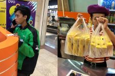 8 Porsi orderan makanan dibatalkan, kisah ojek online ini bikin iba