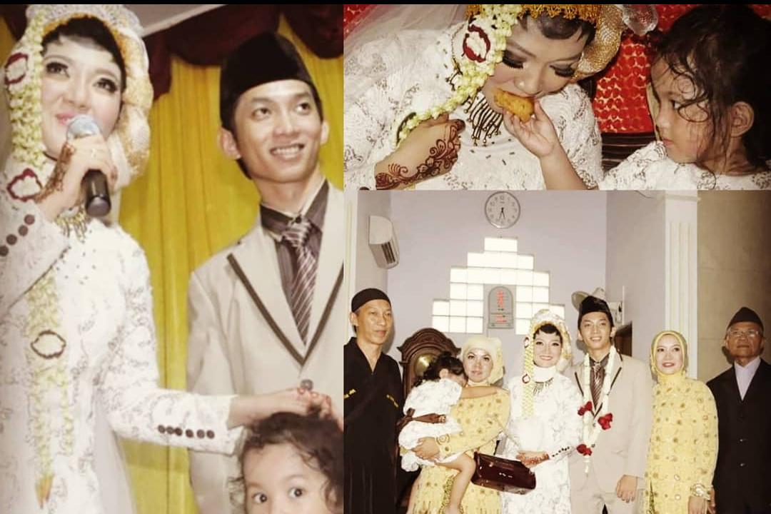 Jarang tersorot, ini 10 potret mesra Sulis 'Cinta Rasul' & suami