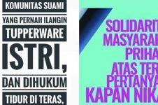 15 Quote kampanye pendukung Jokowi-Ma'ruf Amin ini kocak abis