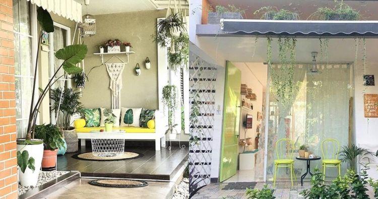 20 Desain teras rumah ini tampak simpel dan cozy abis